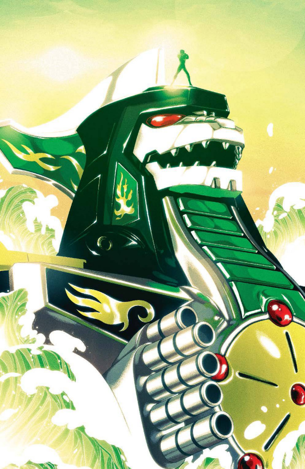 Mighty Morphin' Power Rangers #2 (25 Copy Montes Cover)