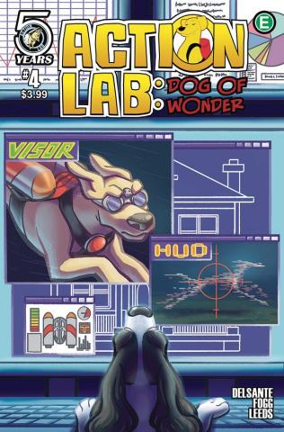 Action Lab: Dog of Wonder #4 (Leeds Cover)
