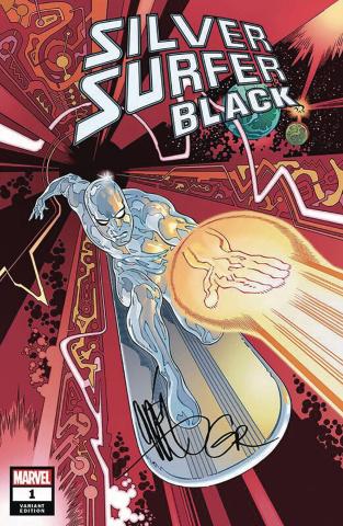 Silver Surfer: Black #1 (Rodriguez Cover)