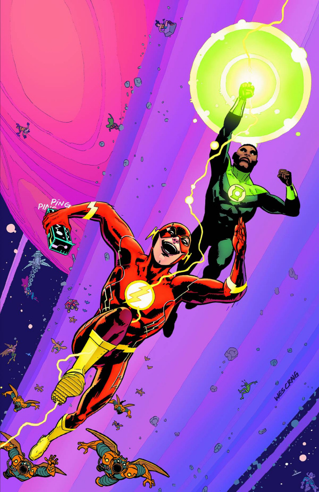 The Flash #44 (Green Lantern 75th Anniversary Cover)