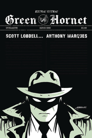 Green Hornet #1 (Marques Cover)