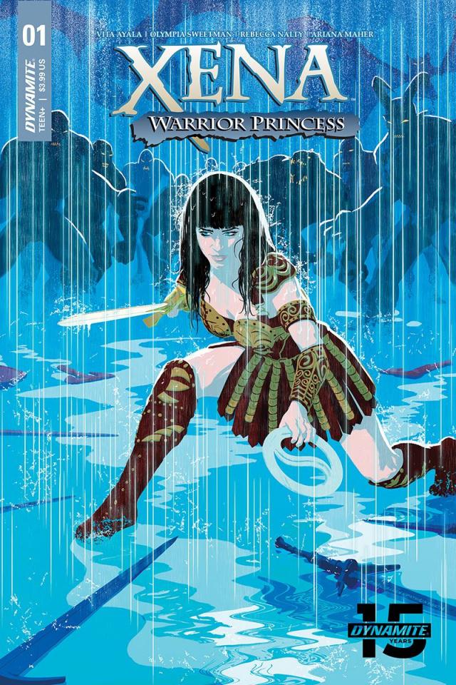 Xena: Warrior Princess #1 (Allen & Martin Cover)
