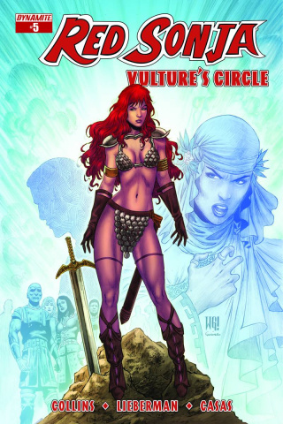 Red Sonja: Vulture's Circle #5 (Geovani Cover)