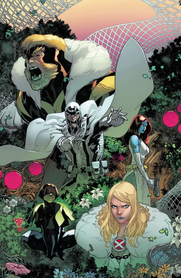 Powers of X #2 (Silva Virgin Cover)