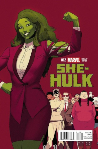 She-Hulk #12 (Anka Final Issue Cover)