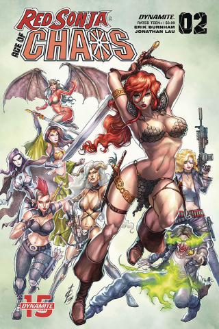 Red Sonja: Age of Chaos #2 (Quah Cover)
