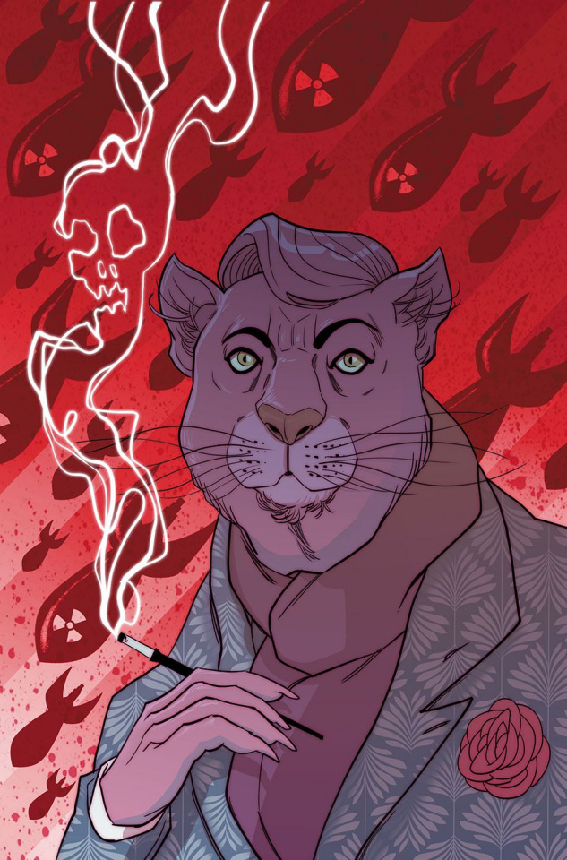 Exit Stage Left: The Snagglepuss Chronicles #4 (Variant Cover)