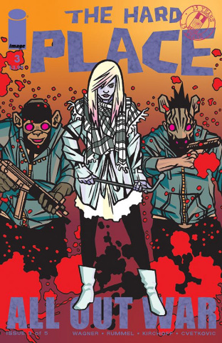 The Hard Place #3 (Walking Dead #116 Tribute Cover)
