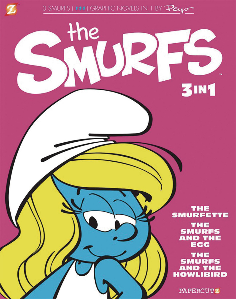 Smurfs Vol. 2 (3-in-1 Edition)