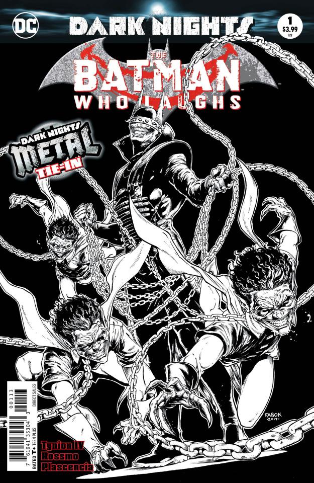 The Batman Who Laughs #1 (3rd Printing)