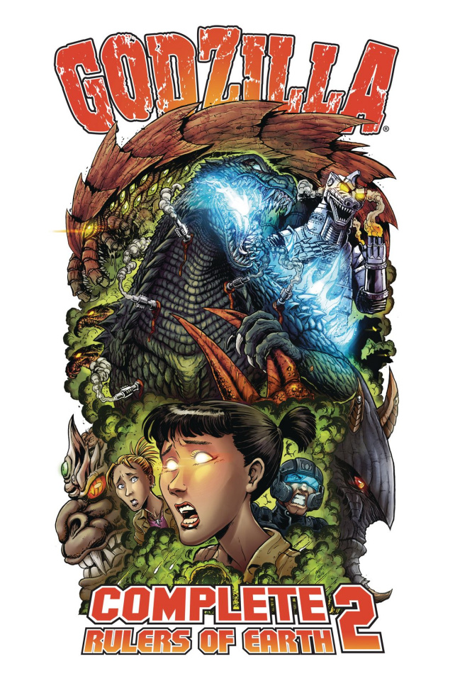 Godzilla: Complete Rulers of Earth Vol. 2