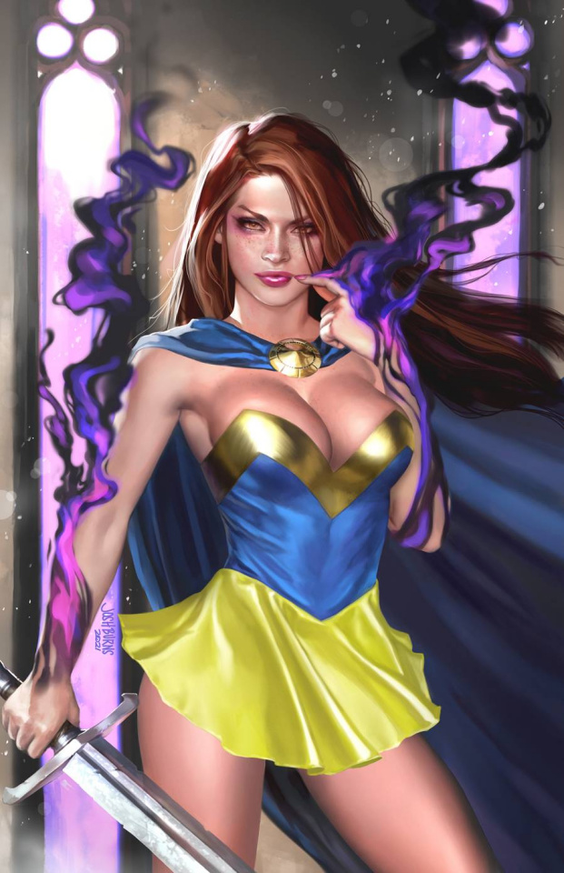 Grimm Fairy Tales #50 (Burns Cover)