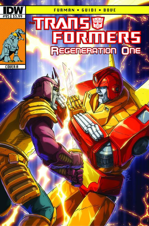 The Transformers: Regeneration One #95
