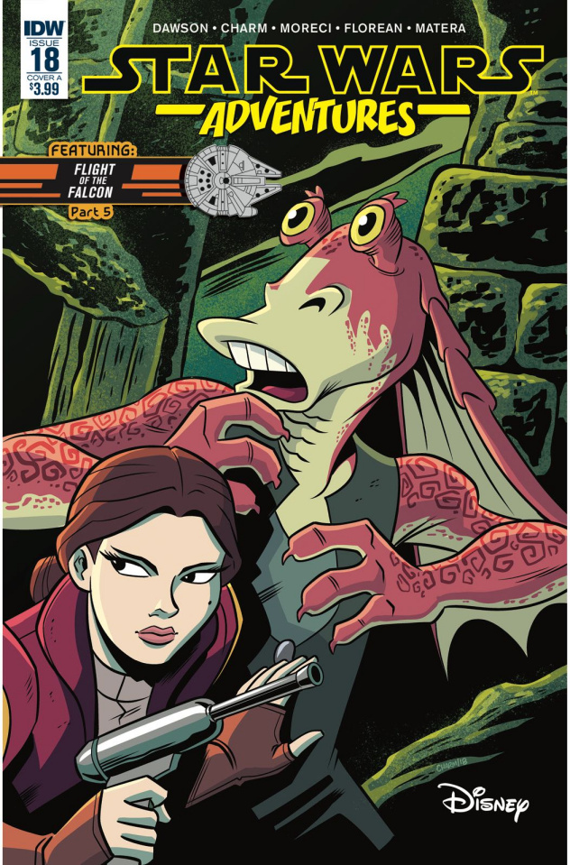 Star Wars Adventures #18 (Charm Cover)