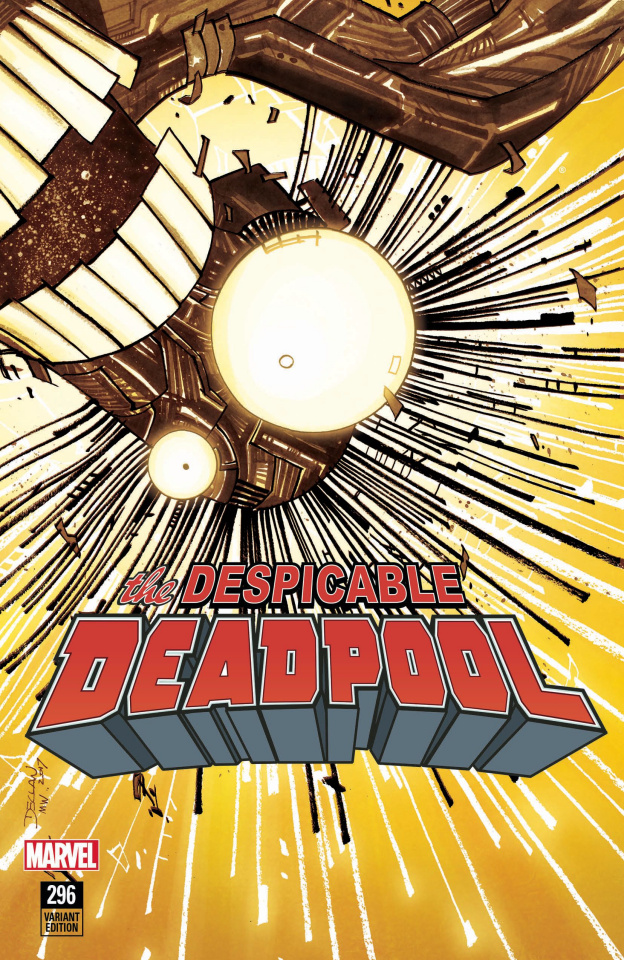 The Despicable Deadpool #296 (Shalvey New Mutants Cover)