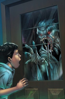 Grimm Fairy Tales: Grimm Tales of Terror #10 (Spay Cover)