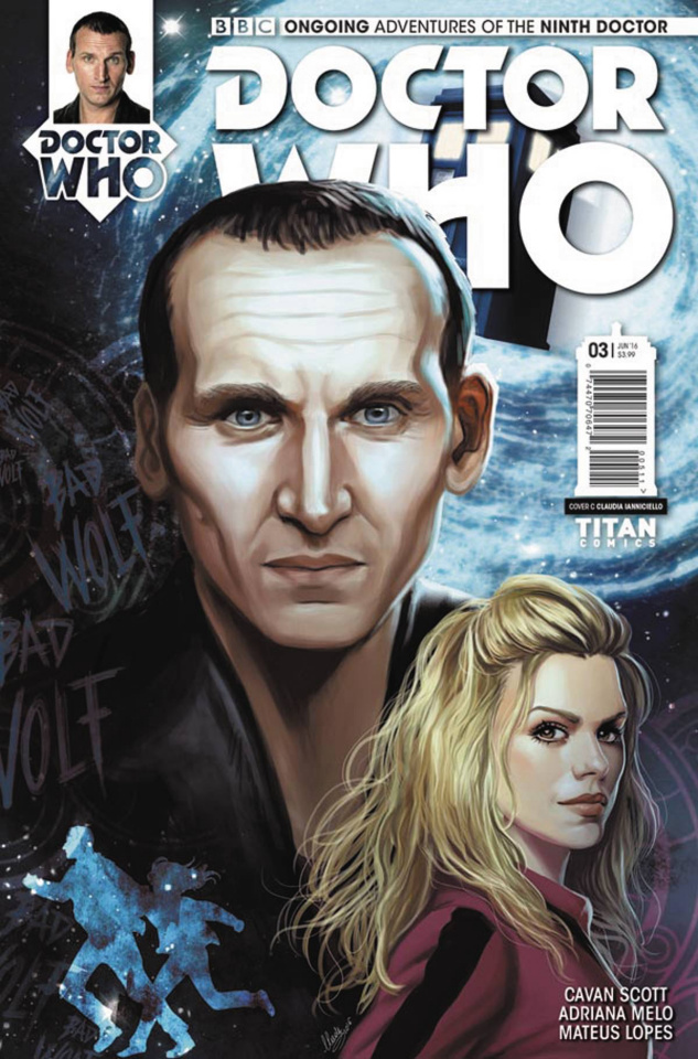 Doctor Who: New Adventures with the Ninth Doctor #3 (Ianniciello Cover)