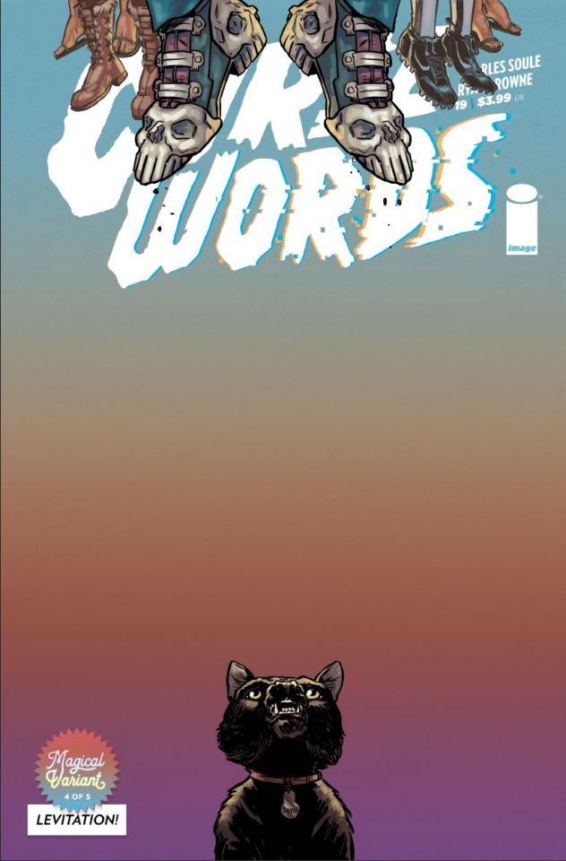 Curse Words #19 (Levitation Browne Cover)