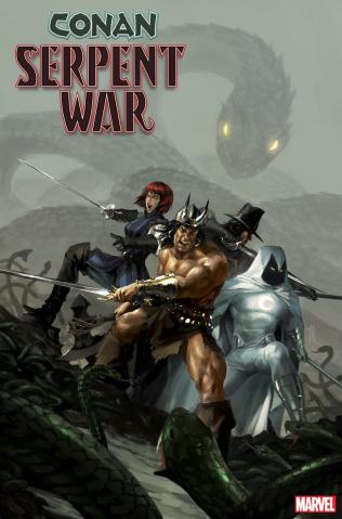 Conan: Serpent War #4 (Mercado Cover)