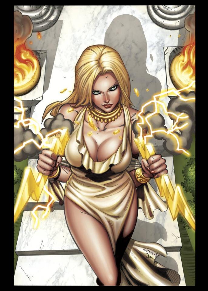 Grimm Fairy Tales: Godstorm - Hercules Payne #1 (Cucca Cover)