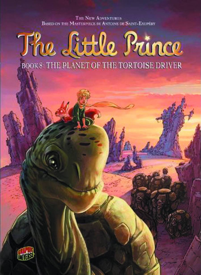 The Little Prince Vol. 8: The Planet of the Tortoise Driver