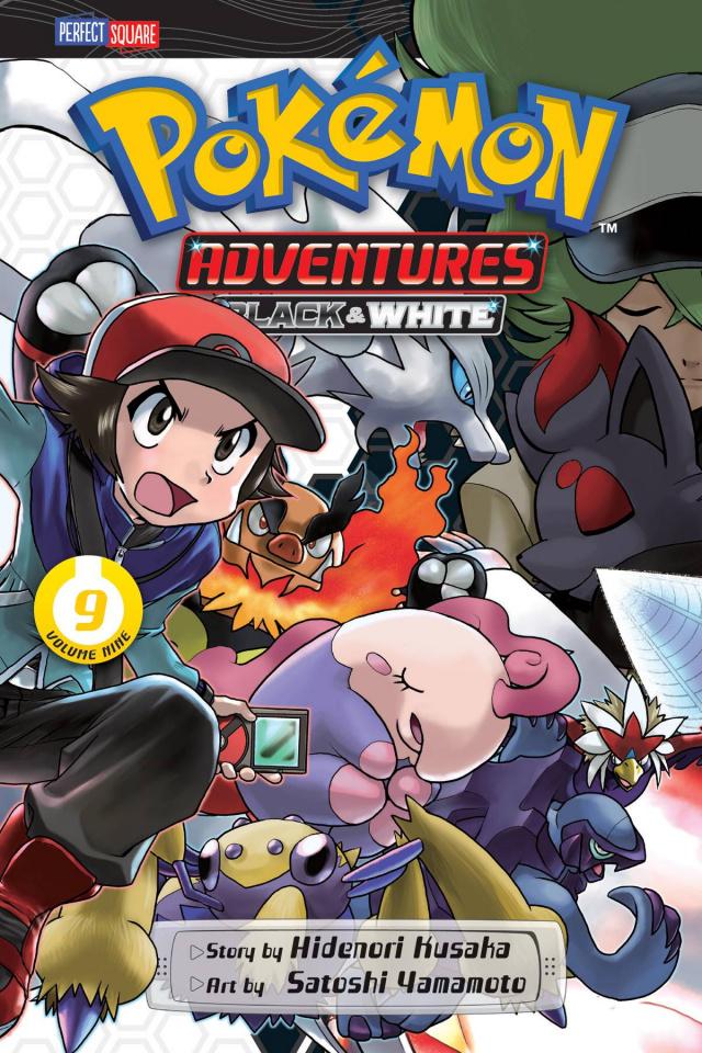 Pokémon Adventures: Black & White Vol. 9