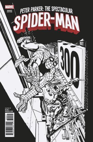 Peter Parker: The Spectacular Spider-Man #300 (Remastered Sketch Cover)