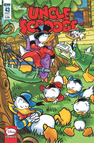 Uncle Scrooge #43 (Mazzarello Cover)