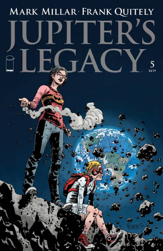 Jupiter's Legacy #5 (Fegredo Cover)