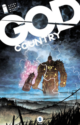 God Country #5 (Shaw Cover)