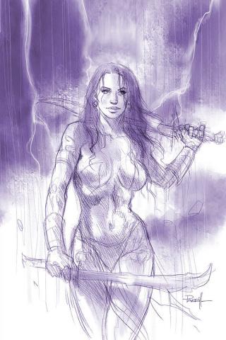 Dejah Thoris #5 (25 Copy Parrillo Tint Virgin Cover)