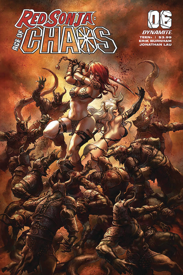 Red Sonja: Age of Chaos #6 (Quah Cover)