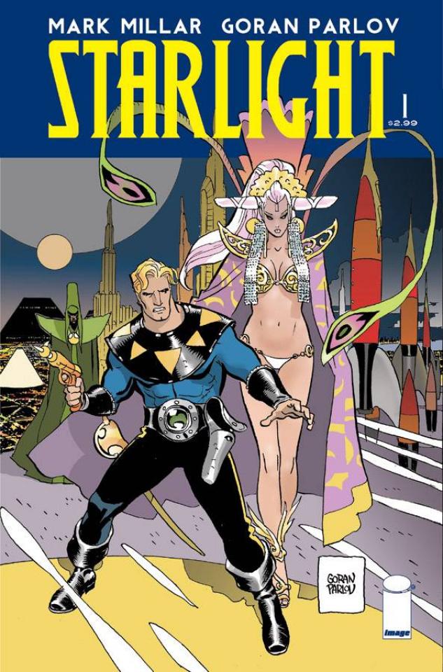 Starlight #1 (Parlov Cover)