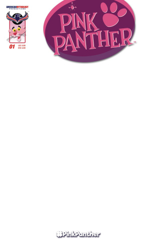 The Pink Panther #1 (Blank Sketch Cover)