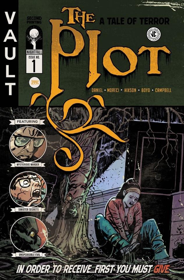 The Plot #1 (2nd Printing)