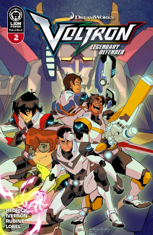 Voltron: Legendary Defender #2 (10 Copy Cover)
