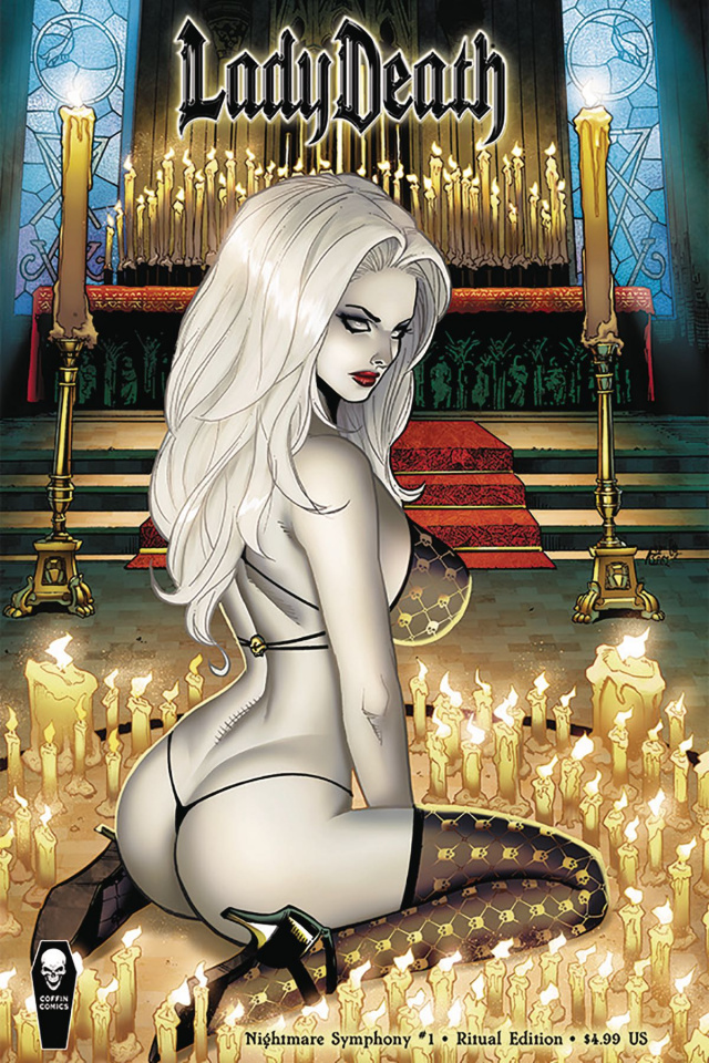 Lady Death: Nightmare Symphony #1 (Ritual Cover)