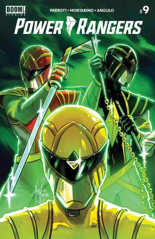 Power Rangers #9 (Reveal Intermix Cover)