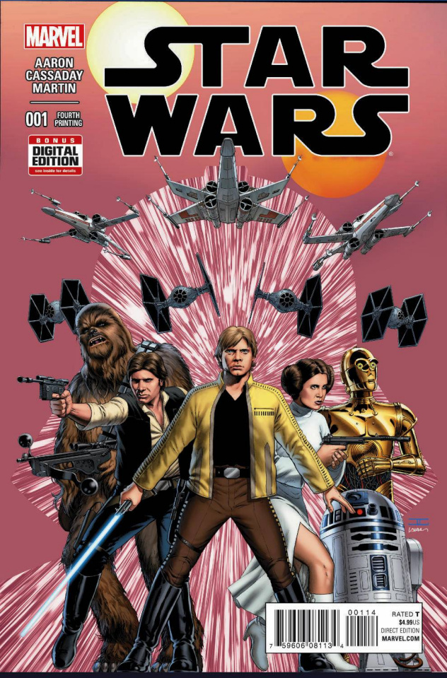 Star Wars #1 (4th Printing)