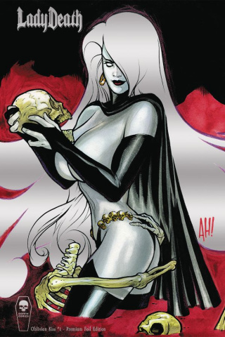 Lady Death: Oblivion Kiss #1 (Foil Premium Cover)