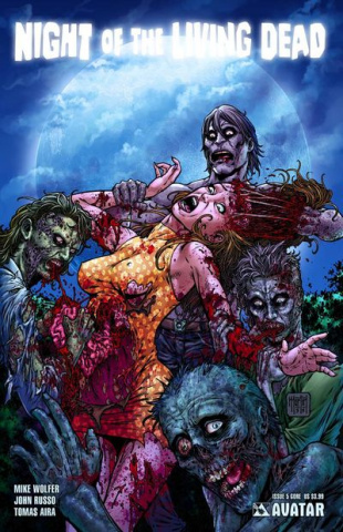 Night of the Living Dead #5 (Gore Cover)