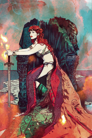 Red Sonja #17 (30 Copy Lotay Virgin Cover)