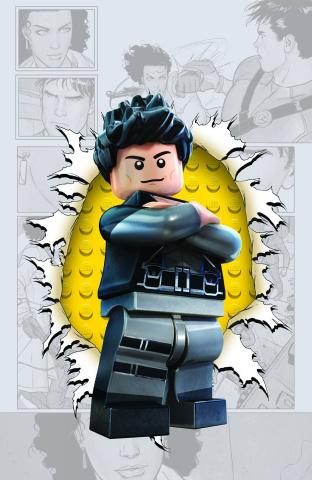 Grayson #4 (Lego Cover)