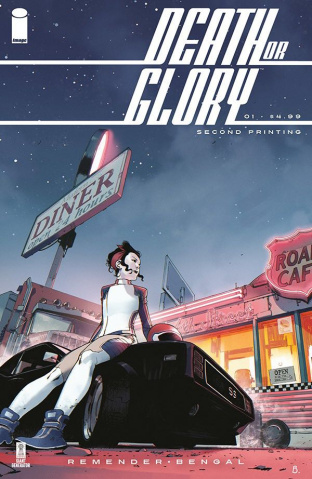 Death or Glory #1 (2nd Printing)