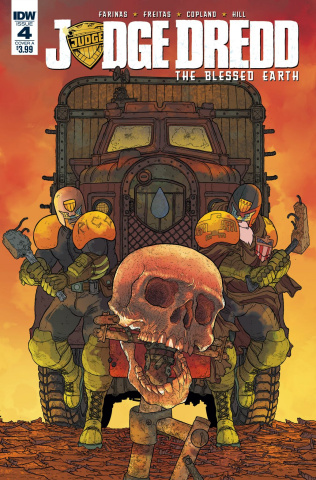Judge Dredd: The Blessed Earth #4 (Farinas Cover)