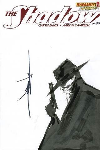 The Shadow #1 (Jae Lee Remark Cover)