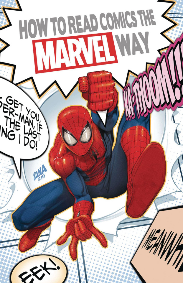 How to Read Comics the Marvel Way #1
