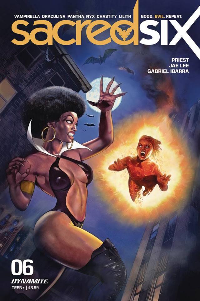 Sacred Six #6 (Dalton Cover)