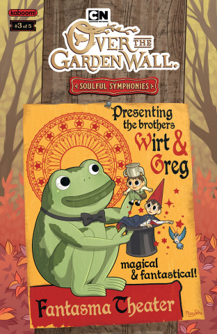 Over the Garden Wall: Soulful Symphonies #3 (Preorder Cover)