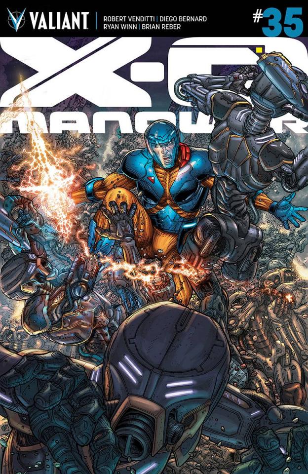 X-O Manowar #35 (20 Copy Ryp Cover)